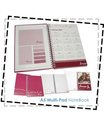 A5 Multi-Pad NoteBook - Tredan Connections