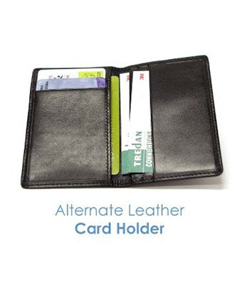 Alternate Leather Card Holder - Tredan Connections