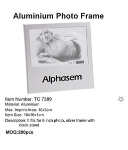 Aluminium Photo Frame - Tredan Connections