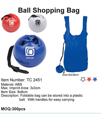 Ball Shopping Bag - Tredan Connections