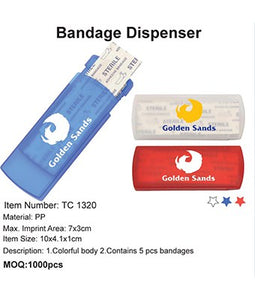 Bandage Dispenser - Tredan Connections