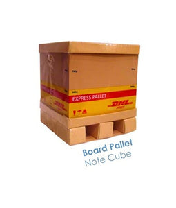 Board Pallet Note Cube - Tredan Connections