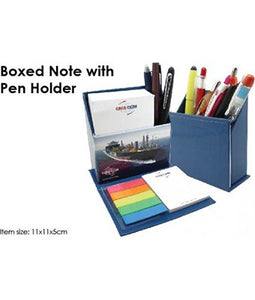 Boxed Note with Pen Holder - Tredan Connections