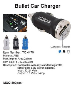 Bullet Car Charger - Tredan Connections