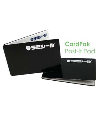 CardPak Post-it Pad - Tredan Connections