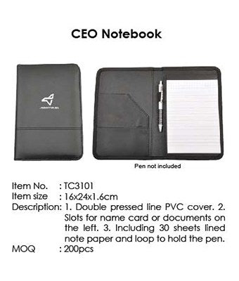 CEO Notebook - Tredan Connections