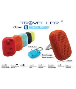 Traveller Clip-On Bluetooth Speaker - Tredan Connections