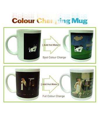 Colour Changing Mug - Tredan Connections