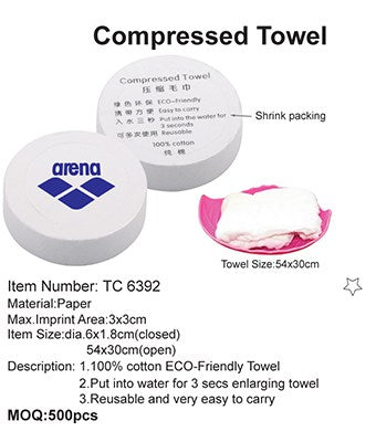 Compressed Towel - Tredan Connections