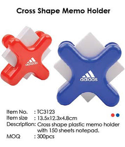 Cross Shape Memo Holder - Tredan Connections