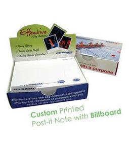 Custom Printed Post-it Note with Billboard - Tredan Connections
