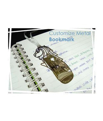 Customize Metal Bookmark - Tredan Connections