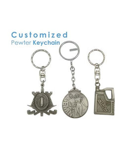Customized Pewter Keychain - Tredan Connections