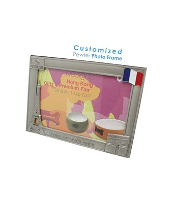 Customized Pewter Photo Frame - Tredan Connections