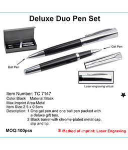 Deluxe Duo Pen Set - Tredan Connections