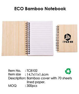 ECO Bamboo Notebook - Tredan Connections