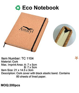 Eco Notebook - Tredan Connections