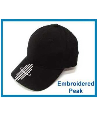 Embroidered Peak Cap - Tredan Connections