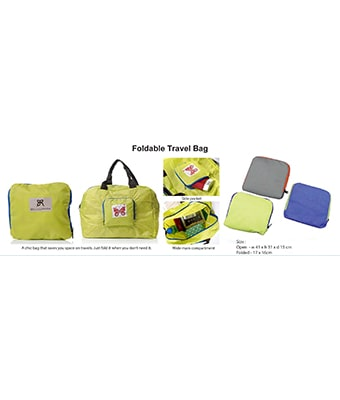 Foldable Travel Bag - Tredan Connections