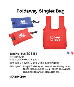 Foldaway Singlet Bag - Tredan Connections