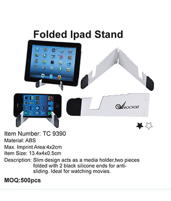 Folded Ipad Stand - Tredan Connections