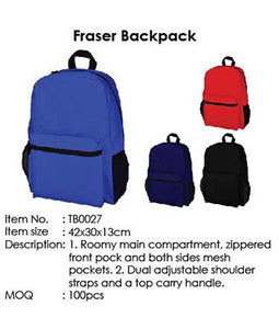 Fraser Backpack - Tredan Connections
