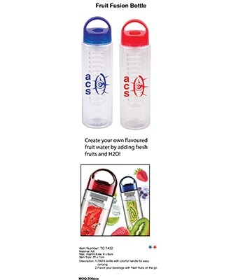 Fruit Fusion Bottle - Tredan Connections