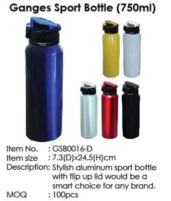 Ganges Sport Bottle (750ml) - Tredan Connections