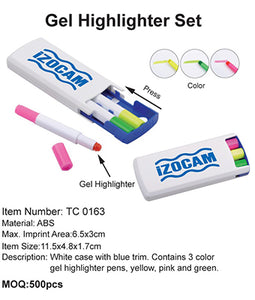 Gel Highlighter Set - Tredan Connections