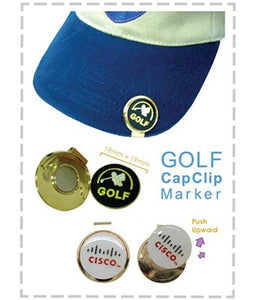 Golf Cap Clip Marker - Tredan Connections