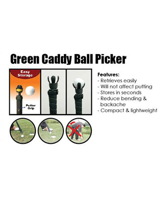 Kairos Green Caddy Ball Picker - Tredan Connections