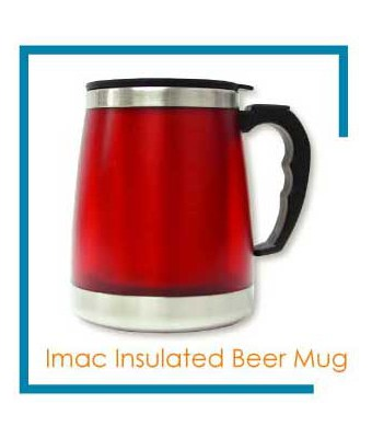 Imac Insulated Beer Mug - Tredan Connections