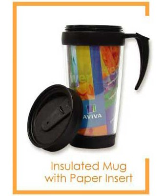 Insulated Mug (With or Without Paper Insert) - Tredan Connections
