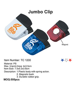 Jumbo Clip - Tredan Connections