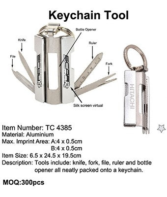 Keychain Tool - Tredan Connections
