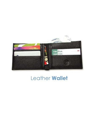 Leather Wallet - Tredan Connections