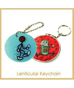 Lenticular Keychain - Tredan Connections