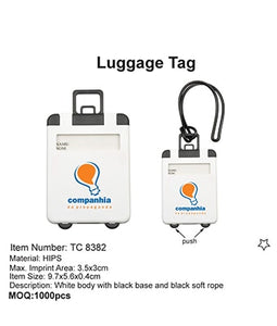 Luggage Tag - Tredan Connections