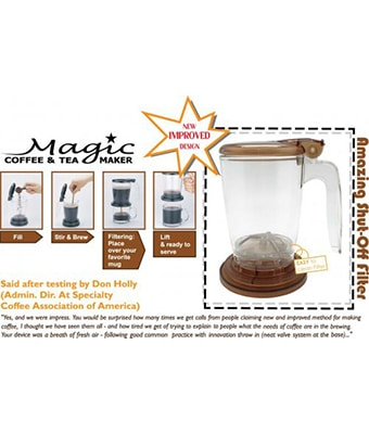Magic Coffee & Tea Maker - Tredan Connections