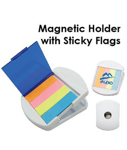 Magnetic Holder with Sticky Flags - Tredan Connections