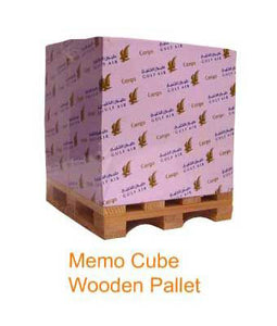 Memo Cube Wooden Pallet - Tredan Connections