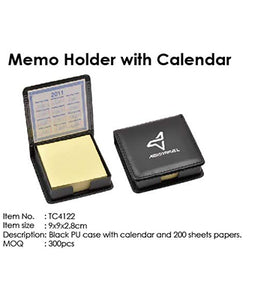 Memo Holder with Calendar - Tredan Connections