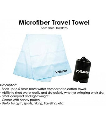 Microfiber Travel Towel - Tredan Connections