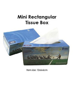 Mini Rectangular Tissue Box - Tredan Connections