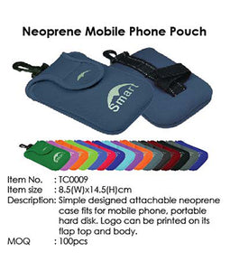 Neoprene Mobile Phone Pouch - Tredan Connections