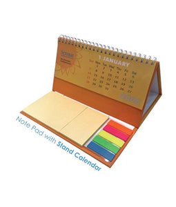 Note Pad with Stand Calendar - Tredan Connections