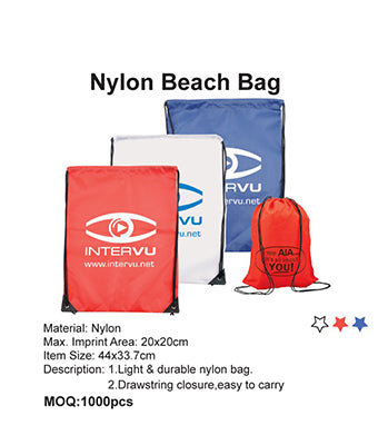 Nylon Beach Bag - Tredan Connections