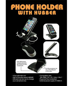 Phone Holder with Hubber - Tredan Connections