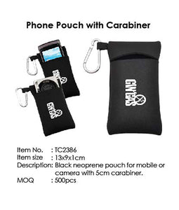 Phone Pouch with Carabiner - Tredan Connections