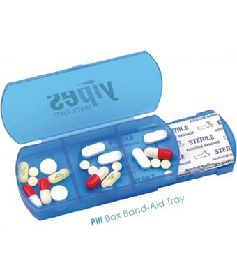 Pill Box Band-Aid Tray - Tredan Connections